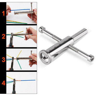 Manual Wire Twisting Tool Steel Cable Connector Wires Stripper Twister  GYTH
