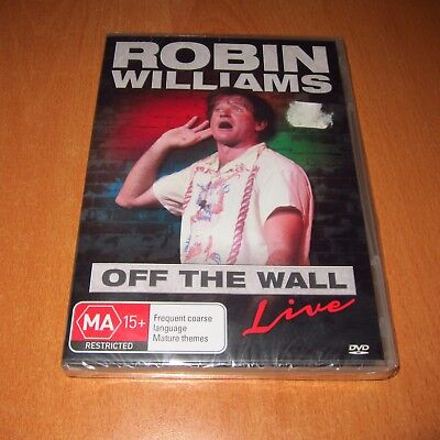 Robin Willaims - Off The Wall : Live ( Dvd , Region 4 ) ~ Brand New Sealed