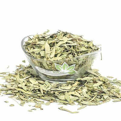 Senna LEAF Cut ORGANIC Loose Dried HERB Cassia angustifolia, 25g+