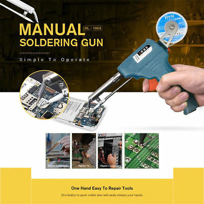 NL-106A One-hand Soldering Gun Recently Arrived Manual 60w Electric 110V / 220V