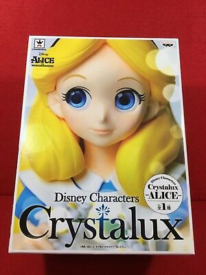 Banpresto Disney Characters Crystalux Alice in Wonderland Alice Figure Japan NEW