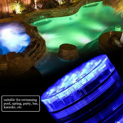 2x 10LED Underwater Landscape Garden Light Fountain Pond Swimming Pool Lamp IP65