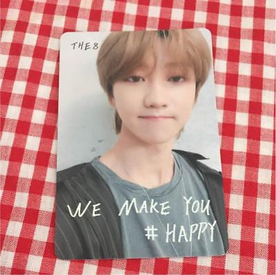 SEVENTEEN THE8 WE MAKE YOU JAPAN SHOWCASE Limited Trading Card a686