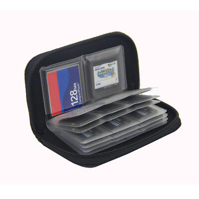 22 Slots Memory Card SD Card Storage Carrying Pouch Holder Wallet Case Bag 1Pcs
