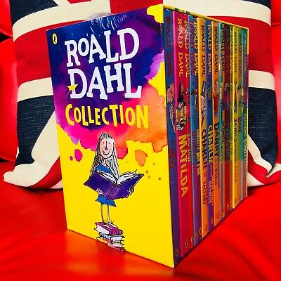 Roald Dahl Box Set Collection x 15 New Books (Paperbacks 2016) Matilda, BFG, etc