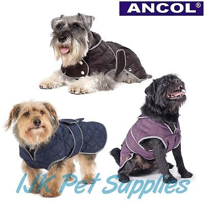* CLEARANCE* Ancol All Weather Muddy Paws Dog Puppy Quilt Quilted Coat Jacket