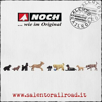 NOCH 15719 Assorted Dogs 00//H0 for Model Railway
