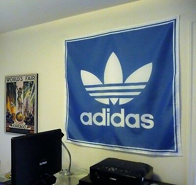 adidas HUGE 4x4 BANNER fabric poster store sign advertising tapestry