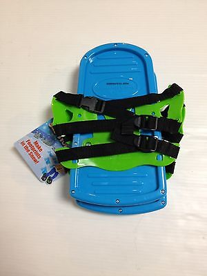 Plastic Ideal Child Toy Sno Stompers Snow Shoes Footprints
