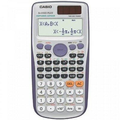 Casio FX-115ES PLUS Scientific Calculator with Natural Textbook Display, New