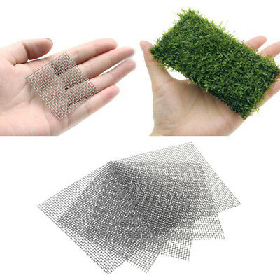 10X Grow Moss On Aquarium Wall Mesh Kit Decorate Fish Tank Live Plant Carpet Net
