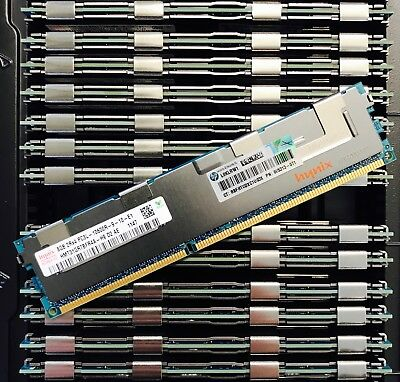 64GB DELL Poweredge Memory Kit (8x8GB Dimms) SNP9RN2C/8G A6199968 A4105730