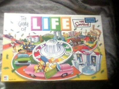 The Game Of Life The Simpsons Edition Board Game 1668
