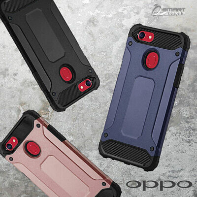 Tough Armor Heavy Duty Hybrid ShockProof Case Cover For OPPO A73 / Oppo R15 Pro