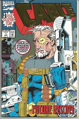 Cable #1 : Gold Foil Cover : May 1993