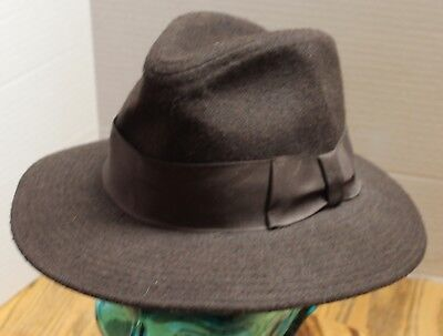 dc4db8d4ec95c ... cheap vintage authentic indiana jones wool hat brown small 6 3 4 6 7  6057d 3a41b
