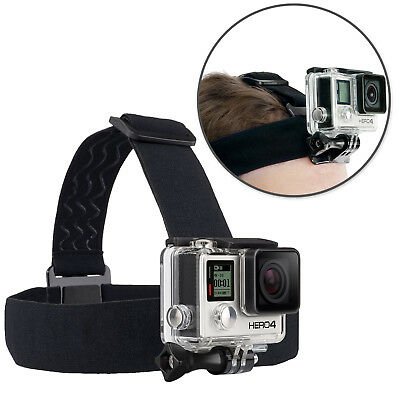 Elastic Mount Belt Adjustable Head Strap Mount For GoPro HERO5 4 3 + 2 1+ LCD