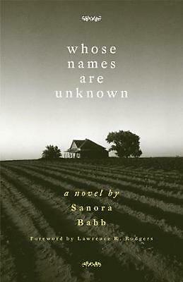 Whose Names Are Unknown by Sanora Babb (English) Paperback Book Free Shipping!