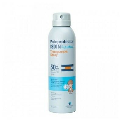 Fotoprotector Isdin Pediatrics Transparent Spray Spf 50+ 250 Ml Crema Solar
