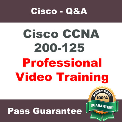 Cisco CCNA R&S Routing and Switching 200-125 Exam Video Training Course Tutorial