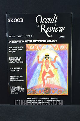 SKOOB Occult Review Issue 3 (Autumn 1990) including Andrew D. Chumbleys first...