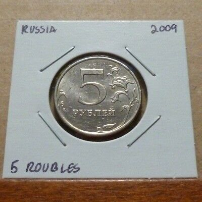 5 ROUBLES COIN - 2009 - Russia
