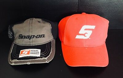 Snap-On Tools Original Merchandise, baseball cap, Red, Grey & black