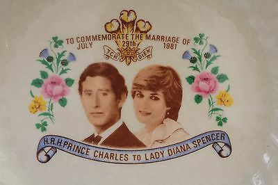 Australia Porcelain Plate Commemorate the Marriage Of Prince Charles Diana
