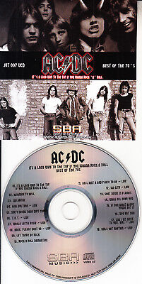 AC/DC ACDC BEST OF THE 70s BRAND NEW VCD - MUSIC VIDEOS GREATEST HITS