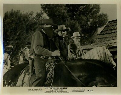 Larry Buster Crabbe Gunfighters Of Abilene 1959 Orig 8X10  Photo X5829