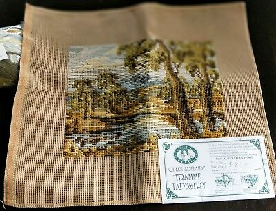 BRAND NEW QUEEN ADELAIDE Trammed TAPESTRY CANVAS & WOOL No. A2016