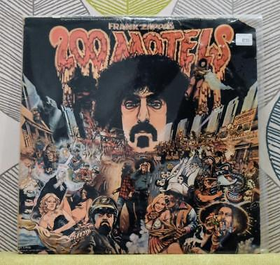 FRANK ZAPPA - 200 Motels [2xVinyl LP,1971] USA Import UAS 9956 Soundtrack *VG+