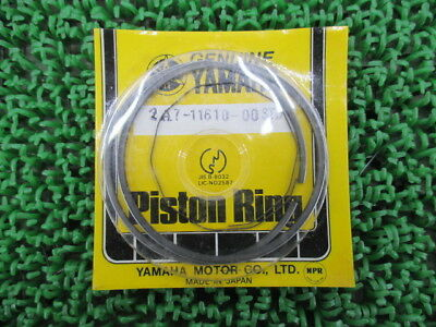 YAMAHA Genuine New Motorcycle Parts MX175 Piston Ring 2A7-11610-00