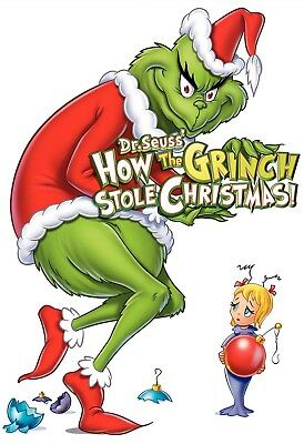 The Grinch Iron On Transfer For T-Shirt & Other Light Color Fabrics #2