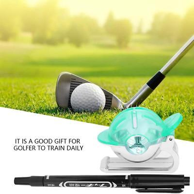 Golf ball spot liner alignment stencil line marker template green golf ball marker liner pattern spot drawing template alignment putting tool new maxwellsz