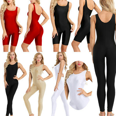 Women's One-Piece Thong Bodysuit Yoga Fitness Swimwear Monokini Swimsuit Workout