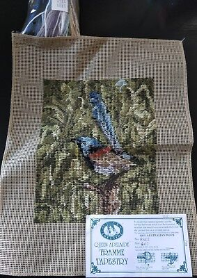 BRAND NEW QUEEN ADELAIDE Trammed TAPESTRY CANVAS & WOOL No. A3002