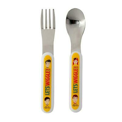 The Wiggles 2Pc Cutlery Set Fork Spoon Emma Wiggle