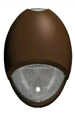Architectural Outdoor Wet Location LED Emergency & General Use Light - DK Bronze