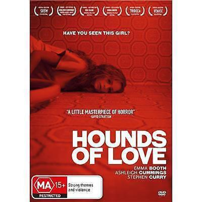 Hounds Of Love (DVD, 2017) new sealed r-4