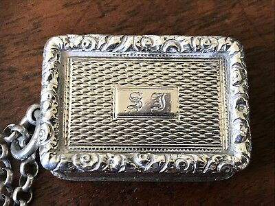 George Iii Solid Silver Vinaigrette By John Shaw 1819