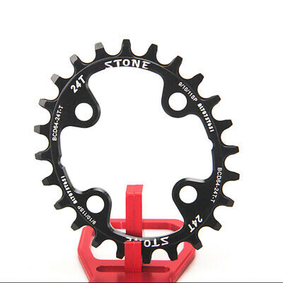 Stone Bike Chainring 64 BCD 64mm Oval Circle Narrow Wide 4 Bolts Inner Chainring