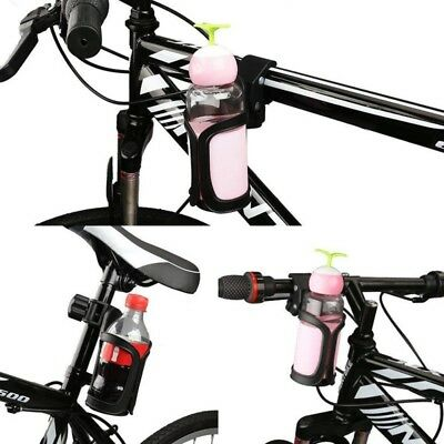 Bicycle Rotation Bottle Cage 360°Water Cup Holder Carrier for Bike Baby Stroller