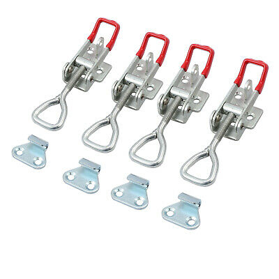 5PCS NEW Latch Catch Drawer Tool Box Chest Locking Metal Toggle Lock Clip Clamps