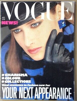Vogue Magazine August 1983 Cover by Albert Watson (A2022)
