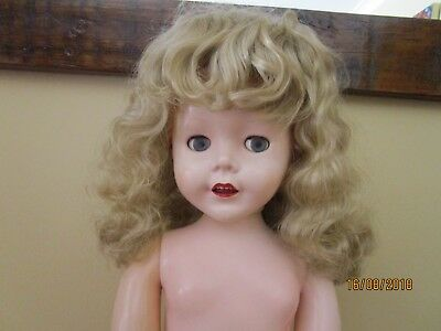 Long Wavy Light Blonde 16 Inch Doll Wig