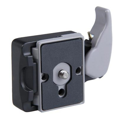 Tripod Head Camera 323 Quick Release Adapter for Manfrotto 200PL-14 Compat-Plate