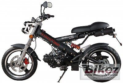 OCCASIONE Moto Sachs Madass Mad Ass 50cc a marce style unico