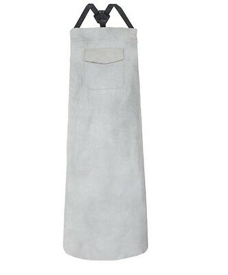 2 x Supertouch Leather Welding Apron with Pocket Model: 20700 – Chrome