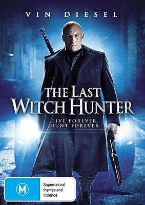 The Last Witch Hunter (DVD, 2016) BRAND NEW SEALED